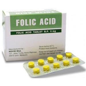 folic acid 5mg