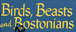 Birds, Beasts, and Bostonians. From the Boston Collection, Burns Library, Boston College.