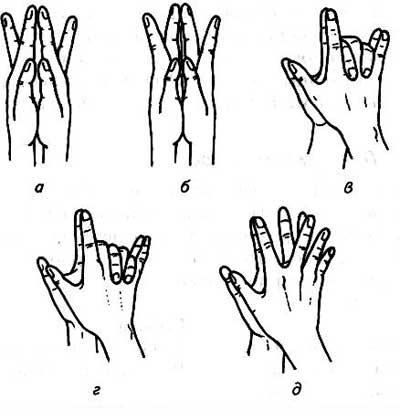 puteți să scăpați degetele