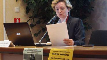 Sandrine Mathen, analyste au Centre d'information et d'avis sur les organisations sectaires nuisibles (CIAOSN)