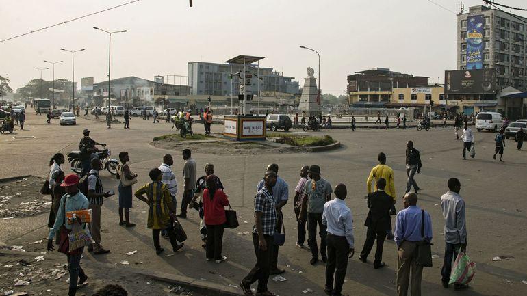 Photo prise à Kinshasa en février dernier