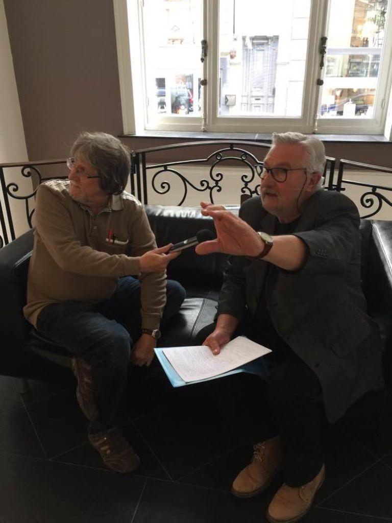 Claude Renard et Jacques Schraûwen