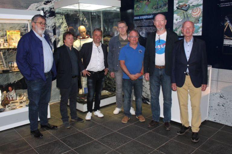 """les auteurs de """"La Conquête de l'Espace"""", """"Lune Rouge"""" et """"Airborne 44"""" à l'Euro Space Center"""
