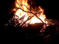 A Small Bonfire (not so small!)