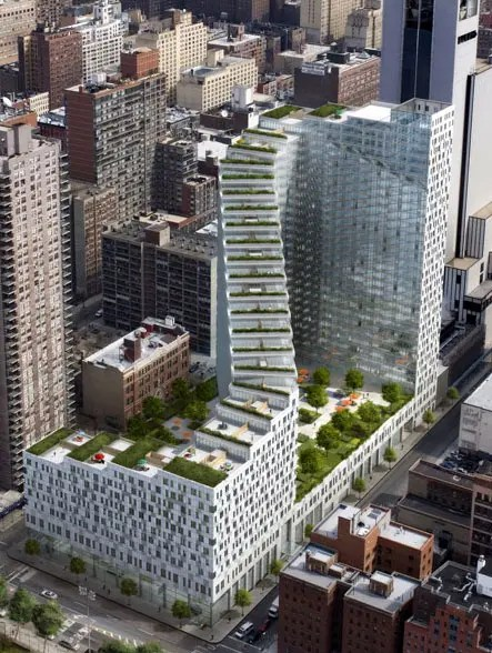 Instrata At Mercedes House 554 West 54th Street Nyc Al Apartments Cityrealty