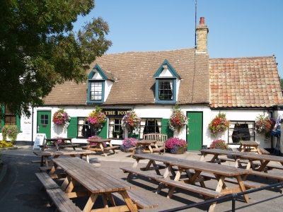 The front of the pub, when Bob and Lou took over.