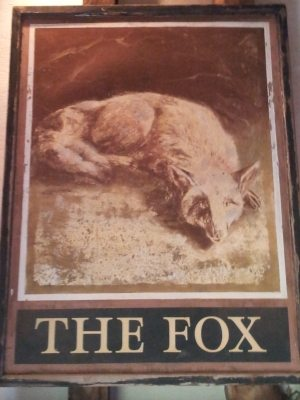 The old Fox sign.