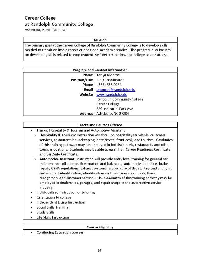 NC Post Secondary Education Programs - 11-29-12_Page_14