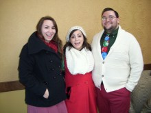 My sisters Gina and Josie and I.