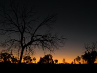 uluru outback sunset, nt