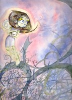 watercolour fairy
