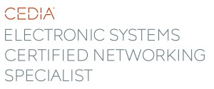 CEDIA electronic systems certified networking specialist