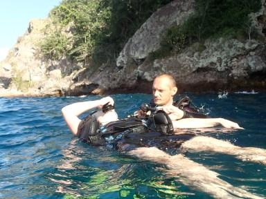 baptême au rocher du diamant- DSC Club de plongée