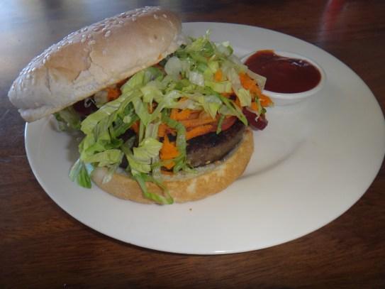 Grass-fed Aussie Burger