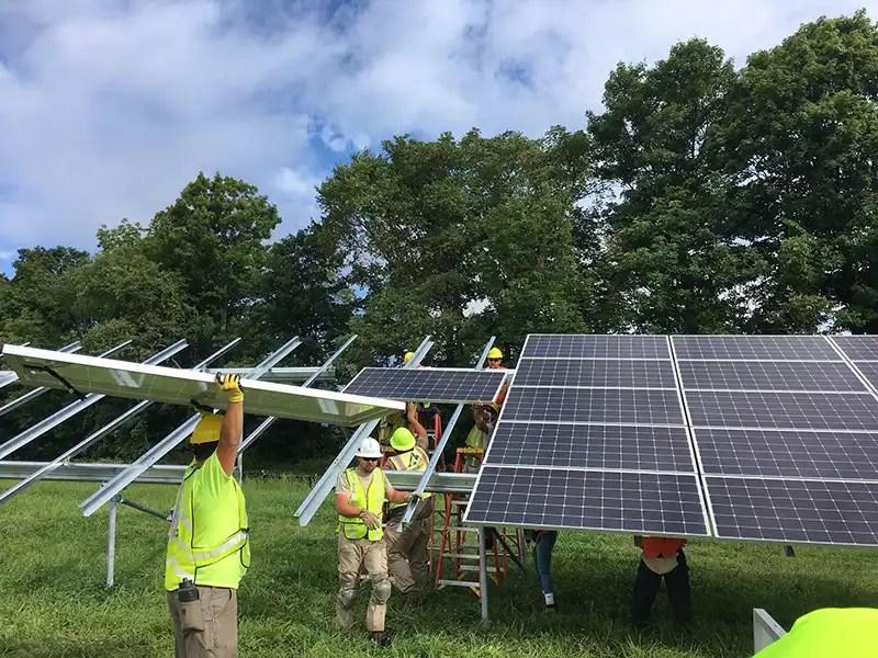 ground-mount solar power