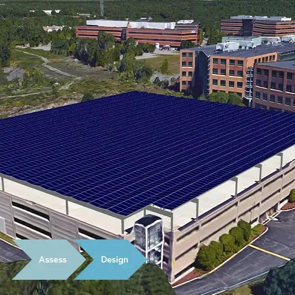 solar energy installations