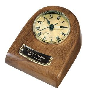 Beautifully Hand-Crafted HardWood Autumn Mini-Clock Keepsake - DSD Brands