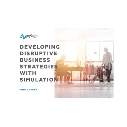 AnyLogic simulation business strategy