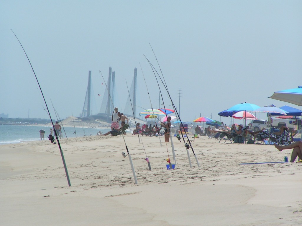 delaware, conquest beach, dssp, dsf, orv fishing, beach access, surf fishing, surf rod, fishing gear, walk on beach, state parks in delaware, sussex county