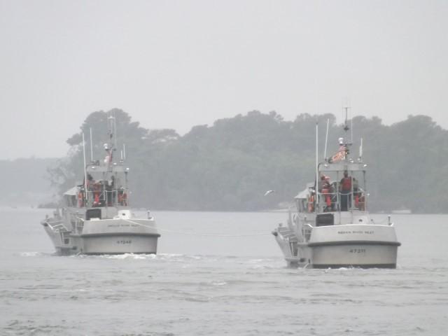 Indian River Coast Guard training