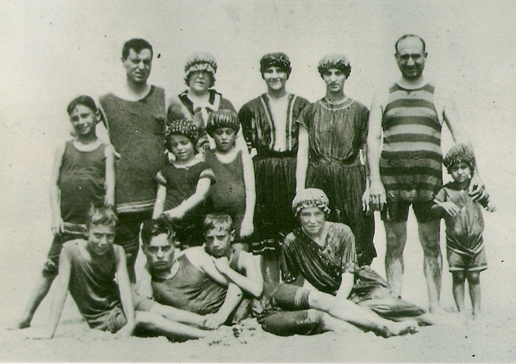 The DeMarco & Palmisano families, Dewey Beach, 1914