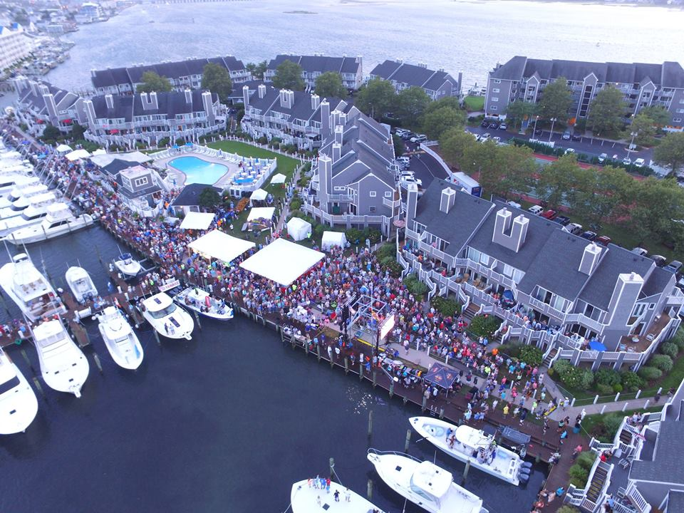43rd Annual White Marlin Open,ocean city, fish scales, harbor, white marlin marina, ocean city, maryland, aerial photos of ocean city