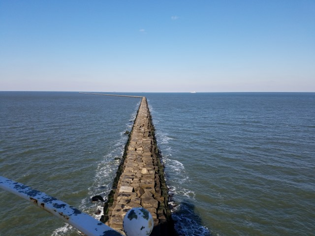 Outer wall,Harbor of Refuge Breakwater, cape henlopen, delaware, sussex county, lewes, delaware bay, harbor of safe refuge, lighthouses of delaware,