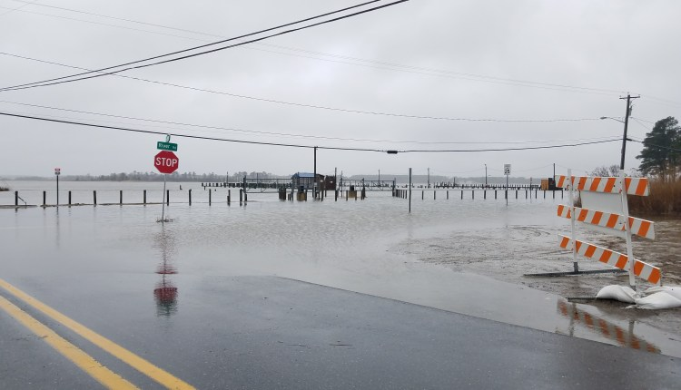 Chiefs road and the marina