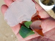 sea glass, beach glass, delaware, sussex county