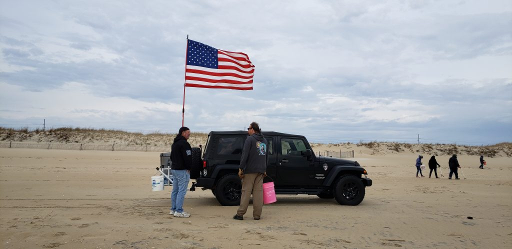 fenwick island state park, beach clean up, delaware beaches, sussex county, delaware surf fishing
