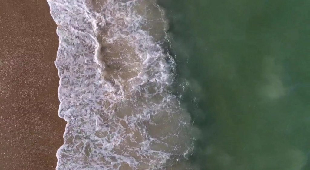 how to fish the beach in Delaware, the ledge in the surf, surf fishing, delaware, sussex county, reading the beach, the wash, sand fleas,