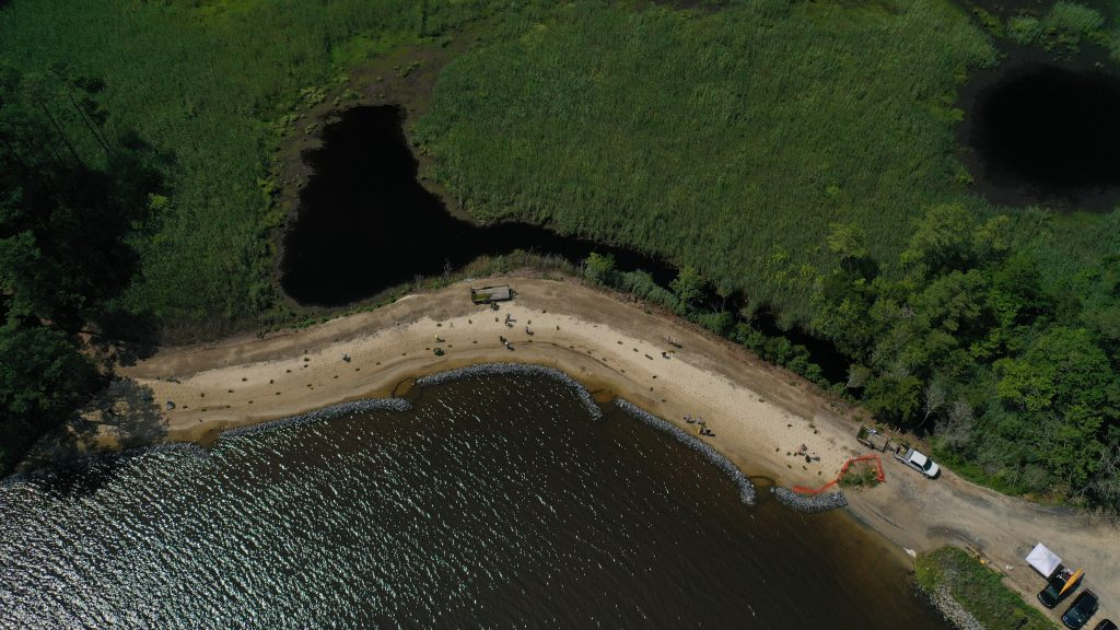 living shoreline, center for the inland bays, delaware, sussex county,