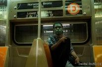 Halloween on The D Train
