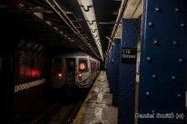 R68 D Train Leaves West 116th Street