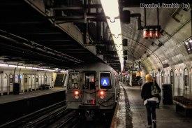 A Train Leaves 181st Street