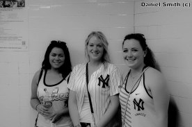 Yankees Fans in The Subway