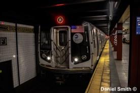 M Train At Fulton Street