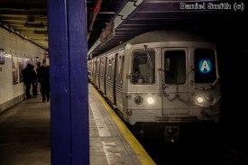A Train Approaches 72nd Street