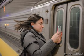 Taking A Picture Of The New 72nd Street Station