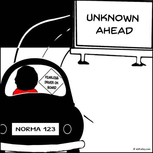 Unknown Ahead