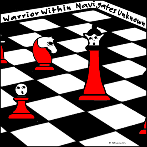 Warrior Within Navigates Unknown