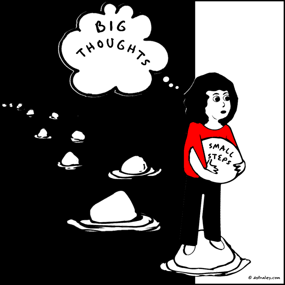 Big Thoughts, Small Steps