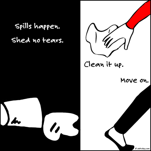 Spills Happen