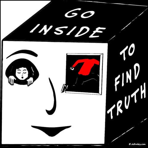 Go Inside To Find Truth