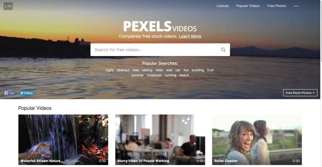 Pexels Videos 2.0