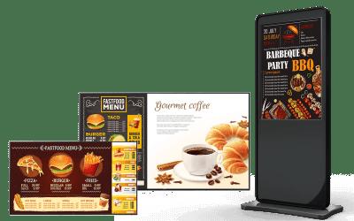 Digital Signage อุปกรณ์ที่จะช่วยเพิ่มมูลค่า ลดต้นทุน เพิ่มกำไร ให้กับธุรกิจร้านกาแฟ ปี 2020