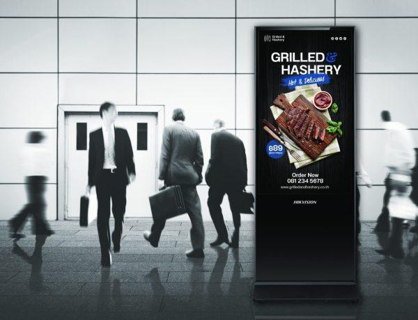 Kiosk Digital Signage Hikvision