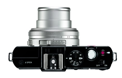 Leica D-Lux6 glossy black_top