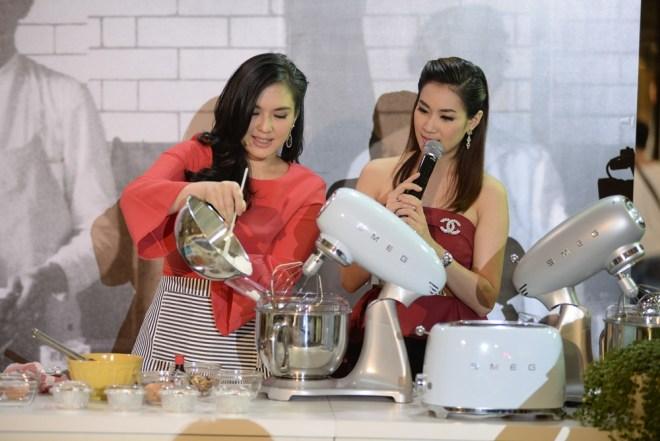 27.โบว์ ชญาดา ลิ่วเฉลิมวงศ์ อวดฝีมือทำขนมเค้ก