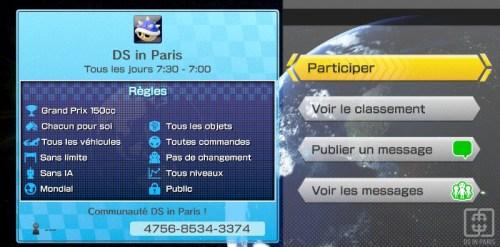 Envie de prolonger le plaisir des sessions DS in Paris à la maison ? Rejoignez la communauté en ligne Mario Kart 8 !